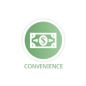 Convenience!