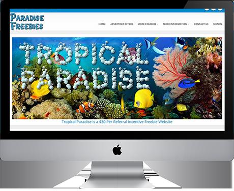 Tropical Paradise Freebies